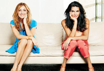 Maura Isles and Jane Rizzoli, excellent examples of strong fictional women, but only on the TV series